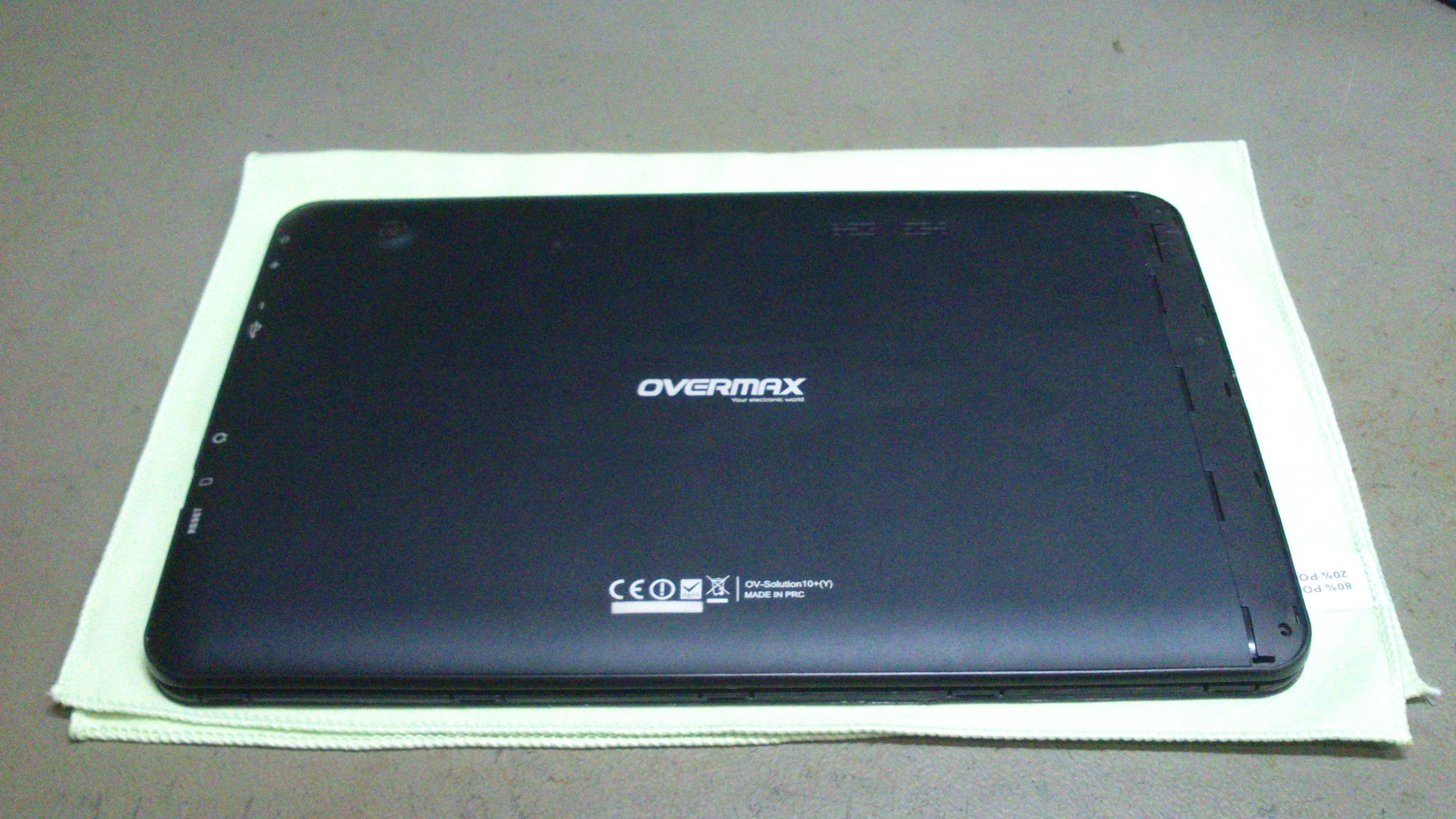 Overmax tablet: micro USB csere